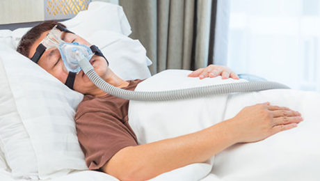 Leczenie bezdechu sennego - aparat CPAP