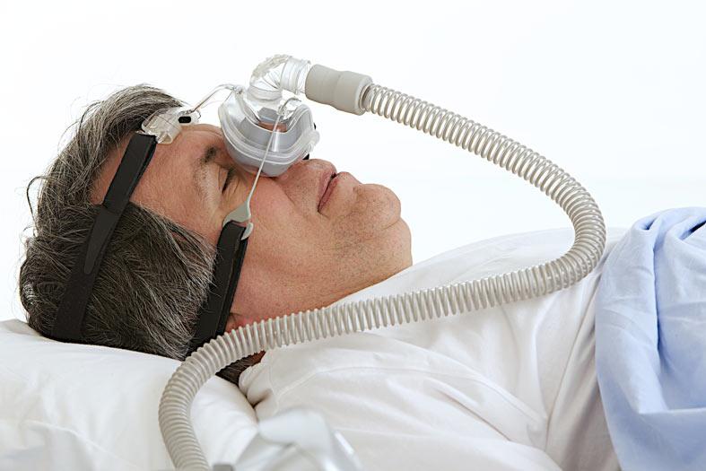 Maska wprotezie powietrznej