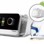 CPAP Resvent iBrreze w zestawie